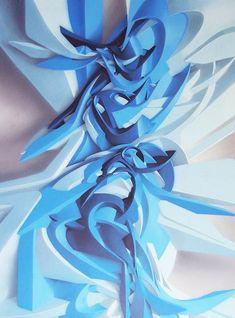 """L'artiste italien Manuel Di Rita, aka Peeta, à la fois peintre, designer, graffiti writer, sculpteur, et de ces incroyables sculptures reprenant les codes chers au graffiti et au street art (""""Peeta – Quand le Street art 3D devient sculptures""""). Mais Peeta est aussi un street artist brillant qui réalise de superbes graffitis 3D… Voici une petite sélection issue de son portfolio !"""