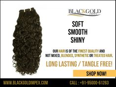 Are you looking for high quality long lasting fabulous #human #hair with natural movement? Try our all natural #virgin #indian #hair with cuticles intact to stop tangling.