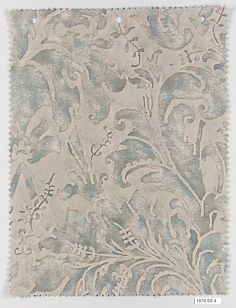 LUCREZIA cotton fabric by Mariano Fortuny