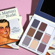Meet Matte Nude una paleta con puros colores matte <3 #theBalm