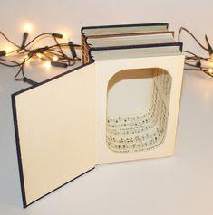 Kisten & Boxen - Große Buchkiste aus echten Büchern - ein Designerstück von Buchkiste bei DaWanda