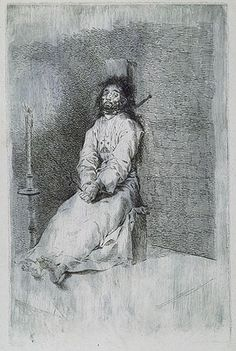 The Garrotted Man (El agarrotado), 1778–80  Francisco de Goya y Lucientes