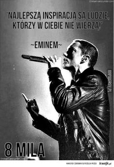 Inspiracja eminema Eminem, Quotes, Movie Posters, Movies, Fictional Characters, Quotations, 2016 Movies, Film Poster, Films