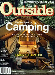 OUTSIDE MAGAZINE MAY 2020 CAMPING GEAR GUIDE ARMY RANGER SCHOOL KARA GOUCHER MOB Kara Goucher, Ranger School, Army Ranger, Outside Magazine, Cool Gear, Camping Gear, Magazines, The Outsiders, Ebay