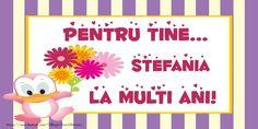 La multi ani Stefania! - Felicitari de zi de nastere pentru Stefania - mesajeurarifelicitari.com Happy Birthday, Frame, Artwork, Trends, Gaia, Happy Brithday, Picture Frame, Work Of Art, Auguste Rodin Artwork