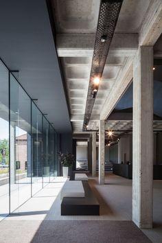 Concrete Detailing Steven Vandenborre Architecten, Tim Van de Velde · AGO HQ · Divisare