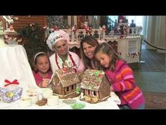 Disney's Grand Floridian video on How to Make a Gingerbread House