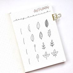 15 Simple Fall & Halloween Bullet Journal Doodles - Bullet Planner Ideas Simple fall doodles for your bullet journal that you need to see! These step by step Halloween doodles are too cute! Bullet Journal Leaves, Doodle Bullet Journal, Bullet Journal Spread, Autumn Bullet Journal, Bullet Journals, Bullet Journal Aesthetic, Bullet Journal Ideas Pages, Bullet Journal Layout, Bullet Journal Inspiration