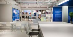 The Innovation Gallery at the Milliken regional headquarters in Shanghai invites visitors to explore a multitude of our company's most creative and influential products. Innovation Lab, Photo Wall, Flooring, Regional, Shanghai, Gallery, Invites, Creative, Frame