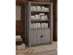 Rustikální masivní regál dřevěný Country 28 Tall Cabinet Storage, Bookcase, Shelves, Country, Furniture, Home Decor, Shelving, Decoration Home, Rural Area