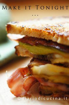 Sandwich Bacon e Guacamole - Diario di Cucina. Expat-Mamma in Francia