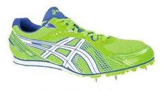 Green asics spikes