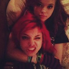 Nia and Rena Lovelis Cherri Bomb, love Rena with little makeup, she looks better this way