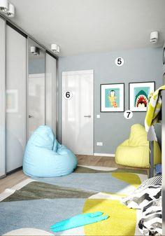 Детская для двух мальчиков: 10 дизайнерских ремарок - 5