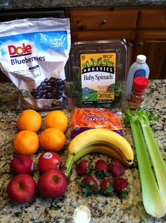 How to Make Healthy Fruit & Veggie Smoothie