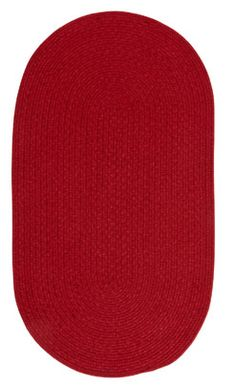 Heathered Scarlet Red Solid Rugs - Capel Rugs