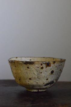 常設展示:鶴野啓司 粉引茶碗