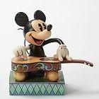 Jim Shore Disney Mickey Mouse Strumming his Hawaiian Guitar Figurine 4032881 - 4032881, Disney, Figurine, Guitar, Hawaiian, Mickey, Mouse, Shore, Strumming