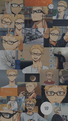 Haikyuu Tsukishima, Haikyuu Fanart, Haikyuu Anime, Haikyuu Wallpaper, Cute Anime Wallpaper, Vintage Anime, Anime Bebe, Anime Art, Manga Anime
