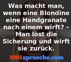 Blondinenwitze - Mehr Witze gibt's auf 1001sprueche.com