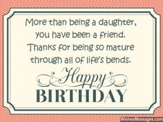 23 Images happy birthday wishes quotes for daughter and wishes cards