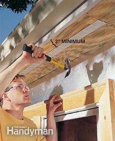 Improve Attic Ventilation: Install soffit vents