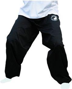 ZooBoo Chenjiagou Taichi Lantern Pants Taichi Practice Uniforms Tai chi Clothing Black Cotton Cloth Martial Arts Practice Pants - Outdoor You Should Know Baggy Trousers, Pants, Tai Chi Clothing, Leg Cuffs, Bodybuilding Workouts, Spandex Material, Workout Wear, Black Cotton, Martial Arts