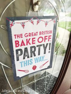 How to Host The Great British Bake Off Birthday Party! Download the party pack and pick the contestants for your show stopper competition.