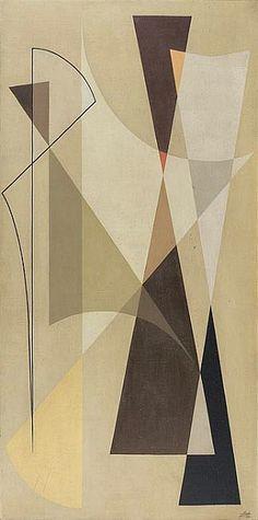Noberto Nicola, Geometric composition (1955) ●彡