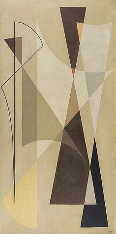 Noberto Nicola, Geometric composition (1955) ●彡