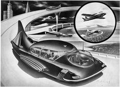Radebaugh: Visions from the future made by Radebaugh