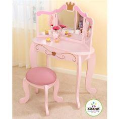Deluxe Vanity & Chair | Toys, Vanity chairs and Vanities