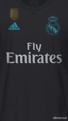 Real Madrid 17-18 kit away