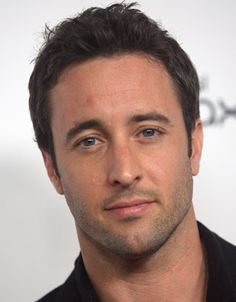 Alex O'Loughlin. Oh yeah! FBD! (Future Baby Daddy). I love him! For real.  He's #1 on THE LIST!