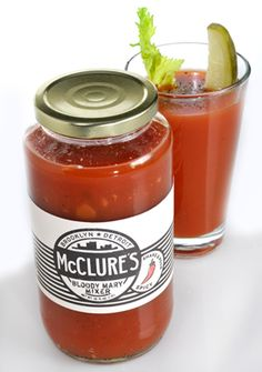 I've drinking this Bloody Mary mix sans alcohol. Delicious, and Michigan made.