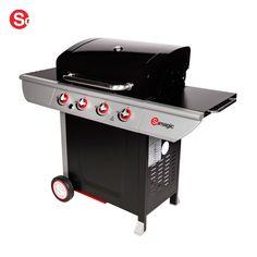 Barbecue au gaz mixte à poser Las Palmas 14kW:
