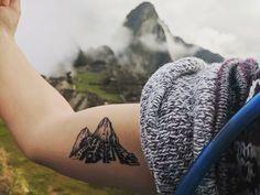 Lil Peep's 55 Tattoos & Their Meanings – Body Art Guru Machu Picchu, Peru Tattoo, Inca Tattoo, Lil Peep Tattoos, Little Tattoos, First Tattoo, Get A Tattoo, Future Tattoos, Tattoos For Guys
