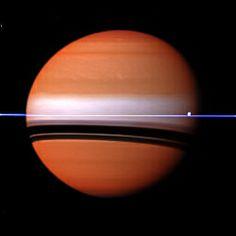 Saturn and Atlas W00069407-08-10 mt3 mt2 bl1 filters - August 29, 2011 - Credit: NASA/JPL/Space Science Institute - Processing: 2di7 & titanio44