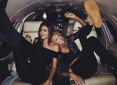 Taylor Hill and Romee Stridj