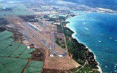 Kahului Airport (PHOG) Maui, Hawaii