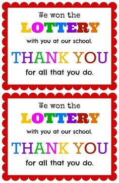 Gift ideas on pinterest teacher appreciation gifts Thanks for all you do gifts