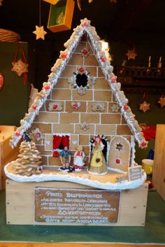 Marzipan House at the Rathaus Christmas Market in Vienna