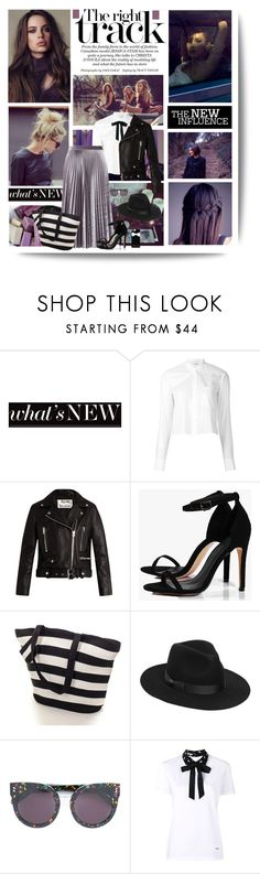 """The time is always right to do what is right"" by kikusek ❤ liked on Polyvore featuring Rosa Cha, Helmut Lang, Acne Studios, Boohoo, Black, Lack of Color, STELLA McCARTNEY, Miu Miu, Casetify and Spring"