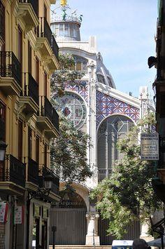 València, mercat central, d'Alexandre Soler i March i Francesc Guàrdia (inaugurat el 1928) Spain