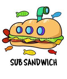 Sandwiches, Food Doodles, Random Doodles, Sandwich Drawing, National Sandwich Day, Kid Puns, Cute Puns, Subway Surfers