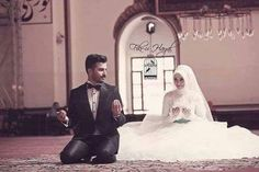 When Nikah become expensive, Zina becomes cheap. So keep Nikah as simple and affordable as possible. Oh Allah make the Nikah easy for us Ameen. Couples Musulmans, Cute Muslim Couples, Romantic Couples, Wedding Poses, Wedding Photoshoot, Wedding Couples, Wedding Dresses, Bridal Hijab, Hijab Bride