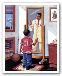 Kappa Alpha Psi art by Lester Kern. This is a great piece of art for my BF.