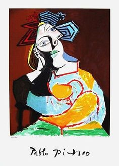 After Pablo Picasso's death in 1973, his granddaughter Marina Picasso authorized the printing of Lithographs, which have come to be known as the Picasso Estate Collection. These Lithographs were metic