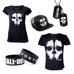 Call of Duty Ghosts merchandise