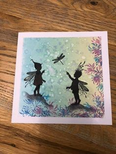 Rochester Workshop April 2019 - Group Two - The Results Lavinia Stamps Cards, Fairy Silhouette, Homemade Birthday Cards, Angel Cards, Fancy Fold Cards, Fairy Art, Scrapbook Cards, Scrapbooking, Card Tags